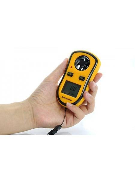 Цифровой анемометр измеритель ветра и температуры