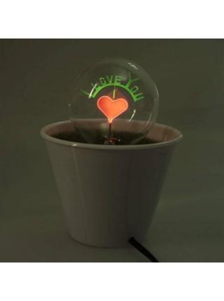Романтический светодиодный светильник I Love You