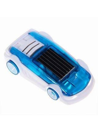 Машинка работающая на солнечной батарее и солёной воде