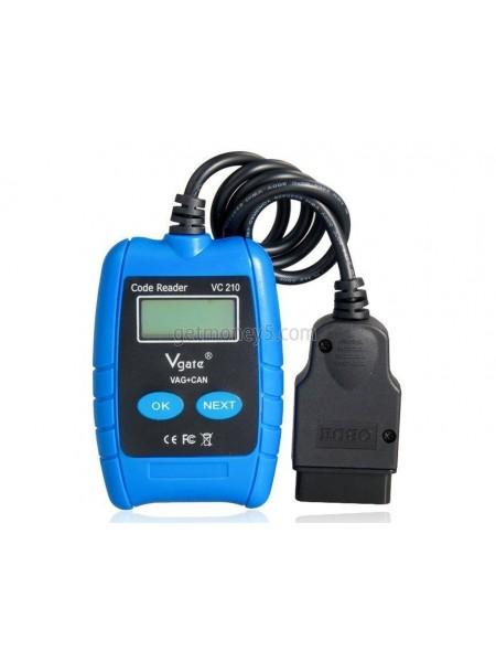 Автомобильный диагностический сканер VC210