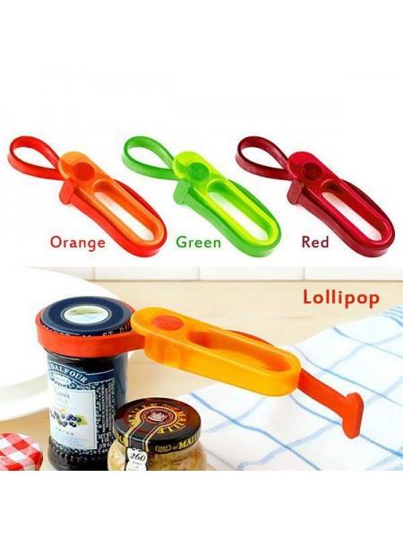 Пластиковая открывалка для консервных банок