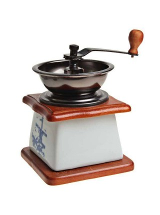 Керамическая ручная мини кофемолка