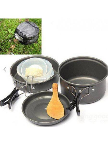 Кулинарный набор посуды для туризма (8 в 1)