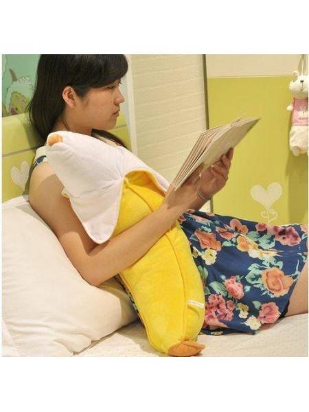 Плюшевая подушка в форме банана (50 см)