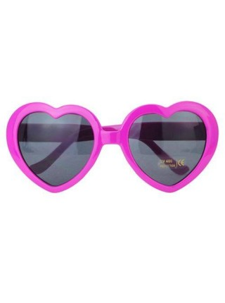 Солнцезащитные женские очки сердечки