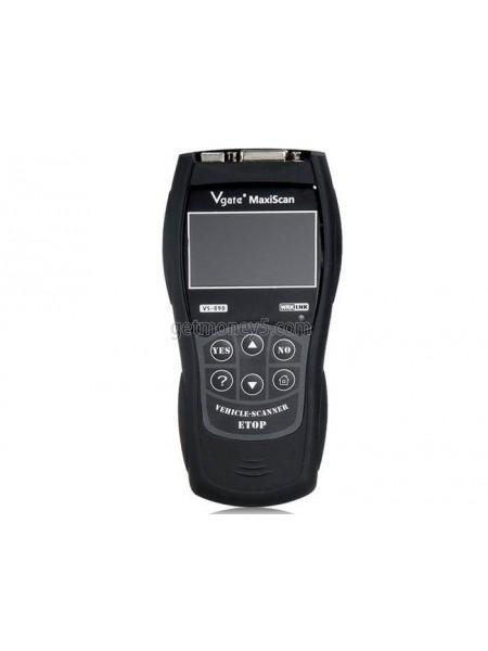 Диагностический автосканер MaxiScan VS890