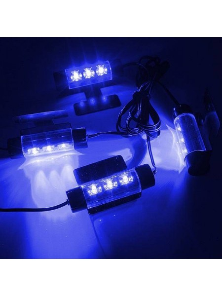 Декоративные LED-лампы для подсветки салона автомобиля