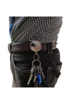 Компактная рулетка с кольцом для связки ключей
