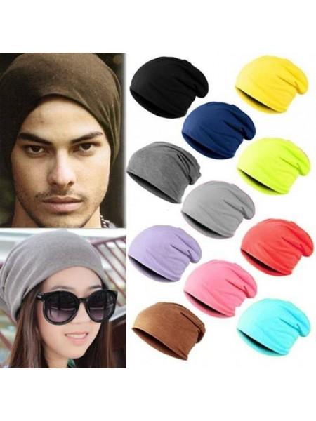 Модные трикотажные хип-хоп шапки