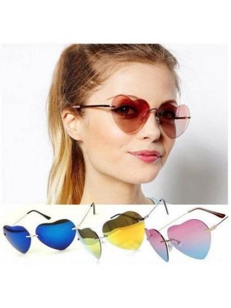 Солнцезащитные женские очки в форме сердца