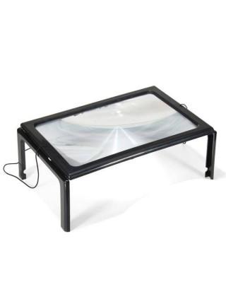 Прямоугольное увеличительное стекло для чтения