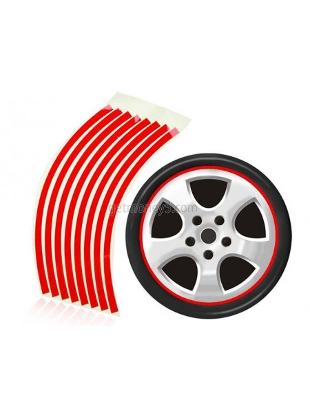 Светоотражающие наклейки для колес