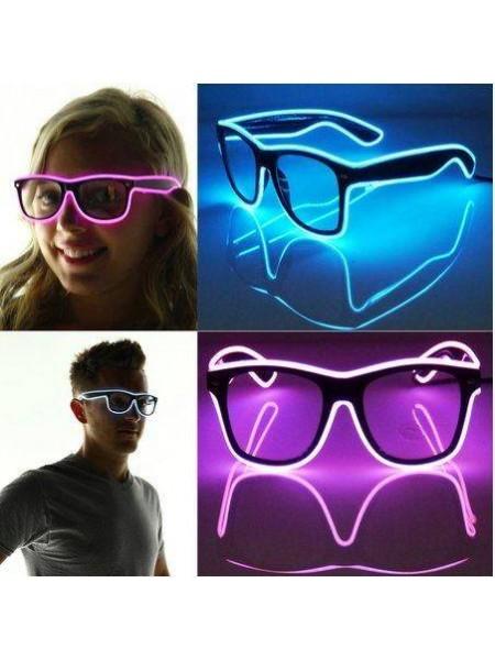 Светящиеся очки для клуба и вечеринок