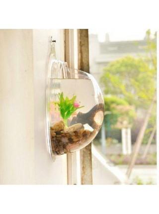 Настенный аквариум для украшения интерьера дома