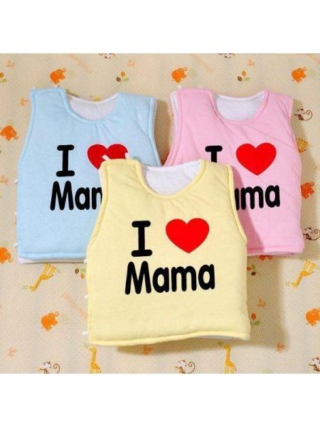 Мягкий жилет для новорожденных I Love Mama