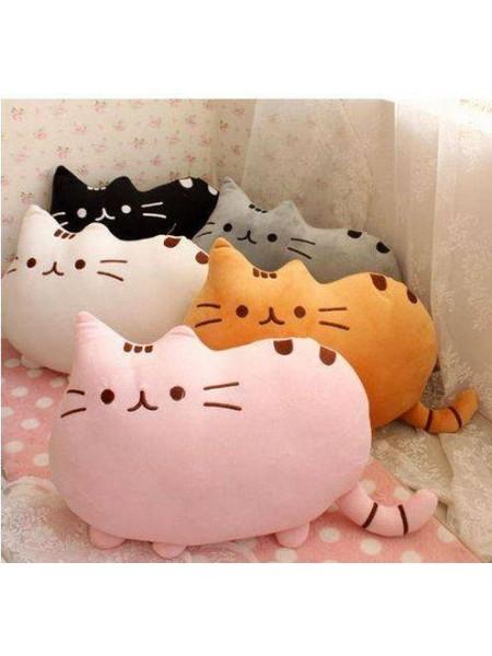 Мягкая плюшевая подушка Fat Cat