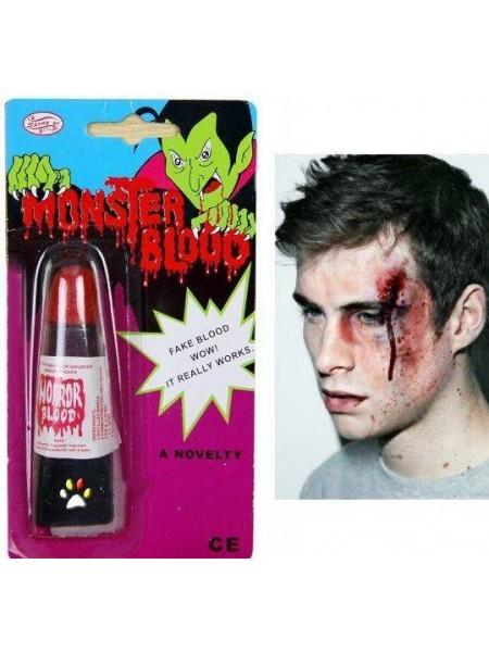 Тюбик с поддельной кровью для Хэллоуина