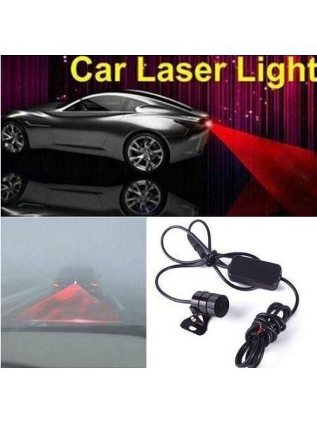Предупреждающий задний лазерный фонарь для автомобиля