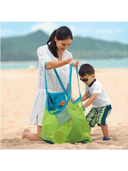 Вместительная пляжная сумка