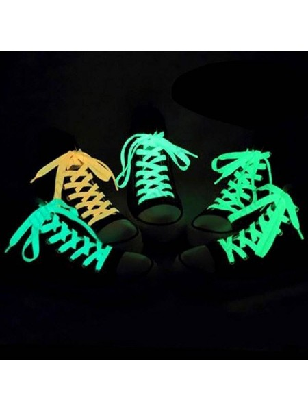Люминесцентные шнурки светятся в темноте (120 см)