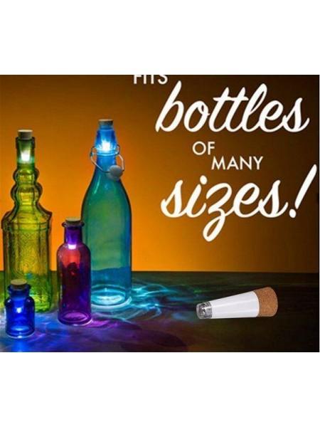 Светящиеся пробка для бутылок вина (аккумуляторная)