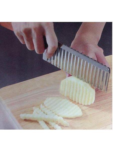 Нож для волнистой нарезки картофеля