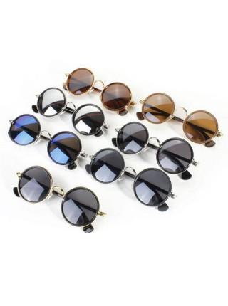 Круглые солнцезащитные очки в ретро стиле