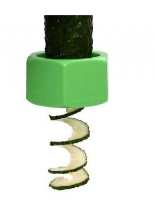 Гайка для нарезки огурца спиральными кольцами