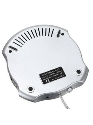 USB-подогреватель для кружки с 4-х портовым USB-хабом