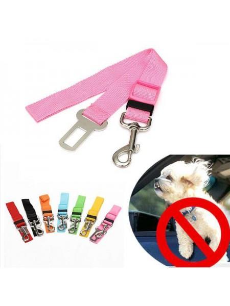 Автомобильный поводок для собак с карабином