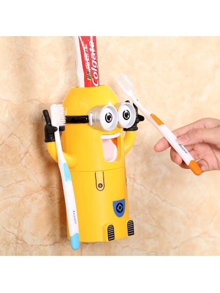 Автоматический дозатор для зубной пасты (Миньоны)