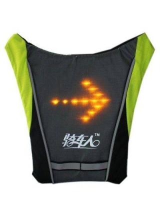 Жилет безопасности для велосипедистов с LED-индикаторами