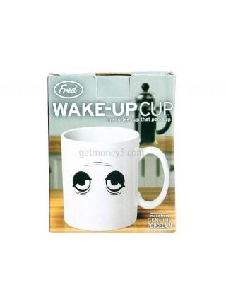 Кружка с индикатором глазами Wake Up