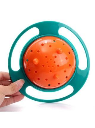 Вращающаяся тарелка-непроливайка для детей