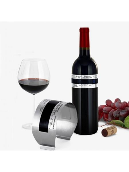 Термометр для вина из нержавеющей стали в виде браслета