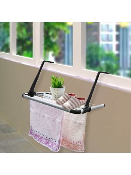 Подвесная складная сушилка для белья на балкон