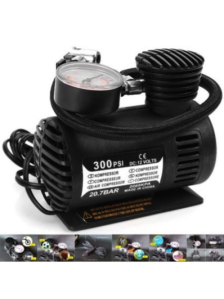 Автомобильный воздушный компрессор 300 PSI