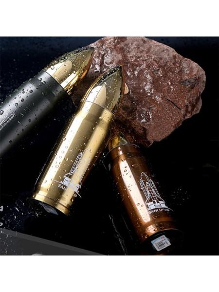 Питьевой термос в форме пули для настоящих охотников
