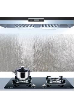 Самоклеющаяся алюминиевая пленка для кухни (2 м)