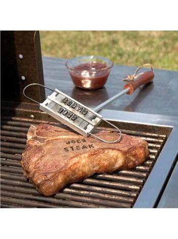 Клеймо для стейков и барбекю со сменными буквами