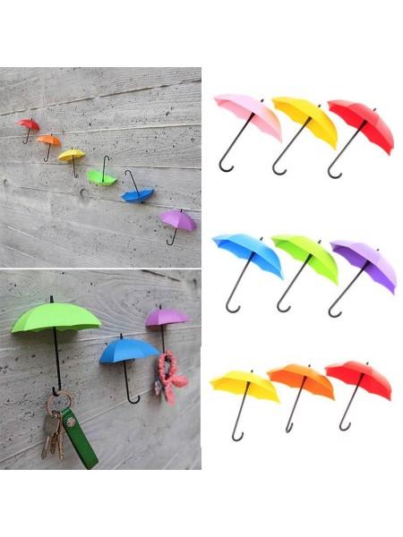 Держатель для ключей в виде зонтика (3 шт.)