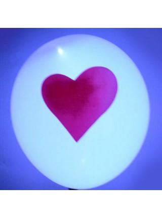 Светящиеся воздушные шарики с надписями (6 шт.)
