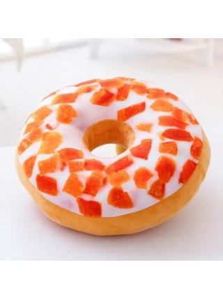 Красочные плюшевые подушки в виде пончиков