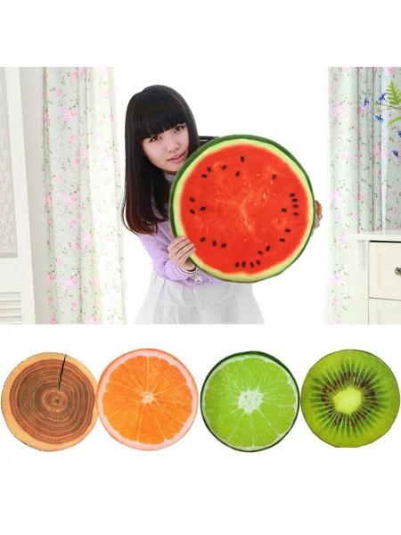 Подушка с дизайном 3D фруктов