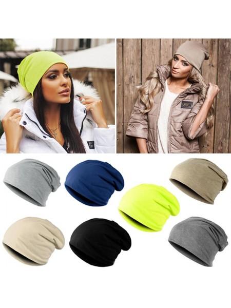 Модные однотонные Хип-Хоп шапки