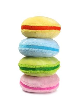 Мягкие красочные подушки в форме Macarons