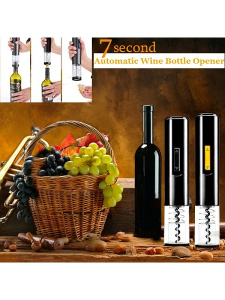 Автоматический штопор для открытия бутылок вина за 7 секунд