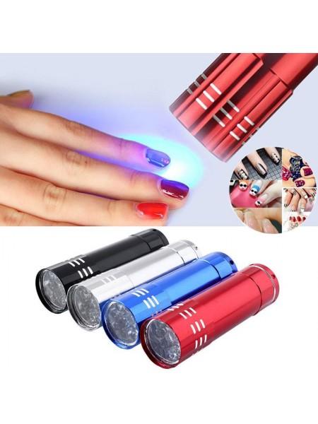 Ультрафиолетовый фонарик для сушки ногтей