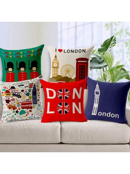 Наволочки на подушку в британском стиле