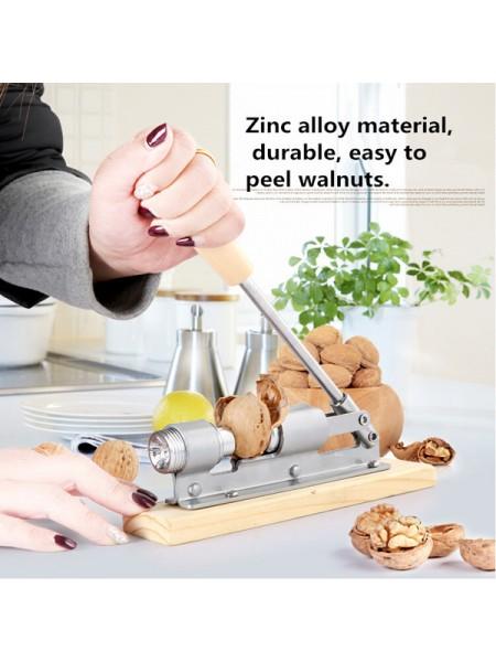 Механический станок для раскалывания грецких орехов